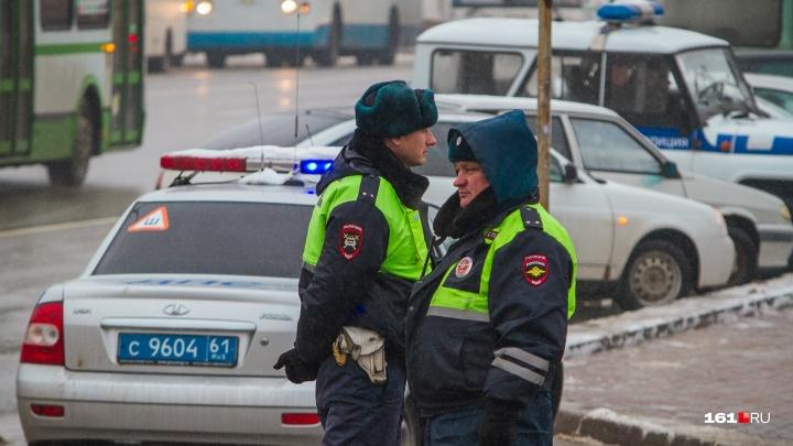 Под Ростовом пассажирский автобус столкнулся с грузовиком