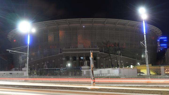 Час во тьме: в центре Екатеринбурга отключили подсветку на зданиях
