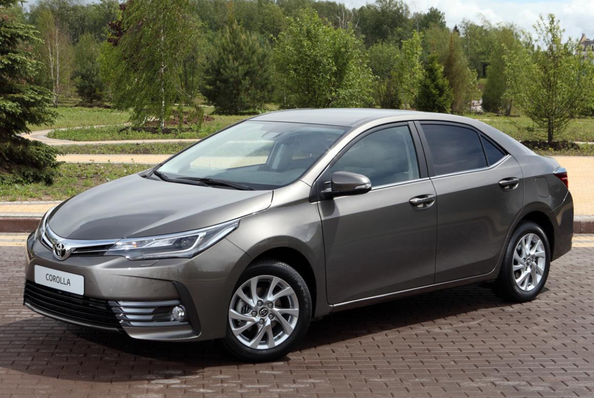 ToyotaCorolla теперь стоит от 1 008 000  рублей