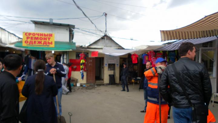 В Самаре на Кировском рынке незаконно брали деньги за пользование туалетом