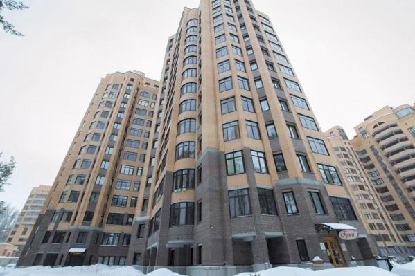 Жилой комплекс на проспекте Академика Коптюга считается одним из самых престижных в городе