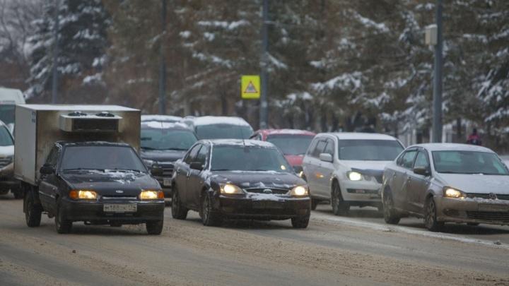 В ГИБДД Зауралья заявили о несоответствии количества машин у жителей качеству дорог