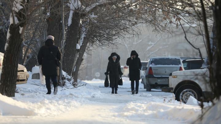 Три солнца в небе, пожар у вокзала и ДТП с маршруткой: Челябинск огненно пережил третий день морозов