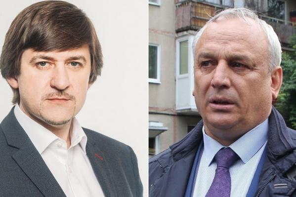 На днях Максим Афанасьев (на фото слева) был назначен главой Тобольска. До этого его проверяли по делу Сергея Польянова (на фото справа), бывшего руководителя управы ЦАО, которого обвиняют в получении взятки и злоупотреблении полномочиями
