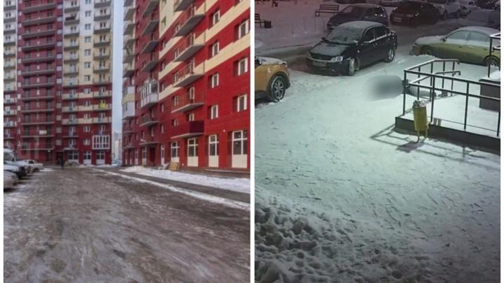 Полицейские установили личность парня, упавшего с высоты и разбившегося насмерть на Пермякова