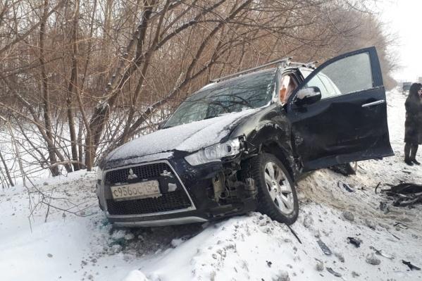 Авария случилась в Ленинском районе в 12:30