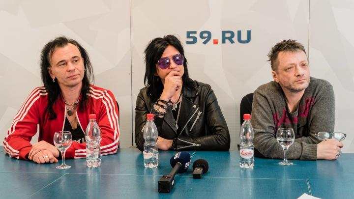 Глеб Самойлов и группа The Matrixx в Перми: «Незнакомым людям лучше не говорить, что ты музыкант»