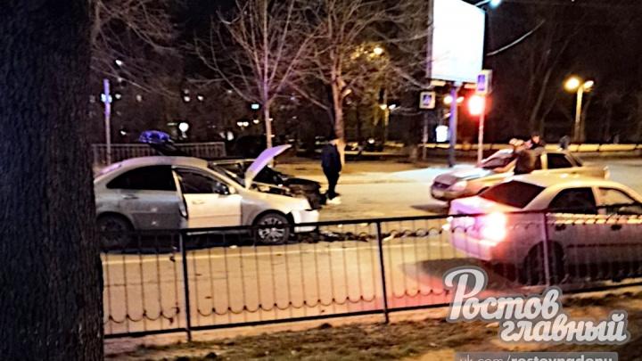 Выехал на встречку: в Ростове пешеход спровоцировал ДТП