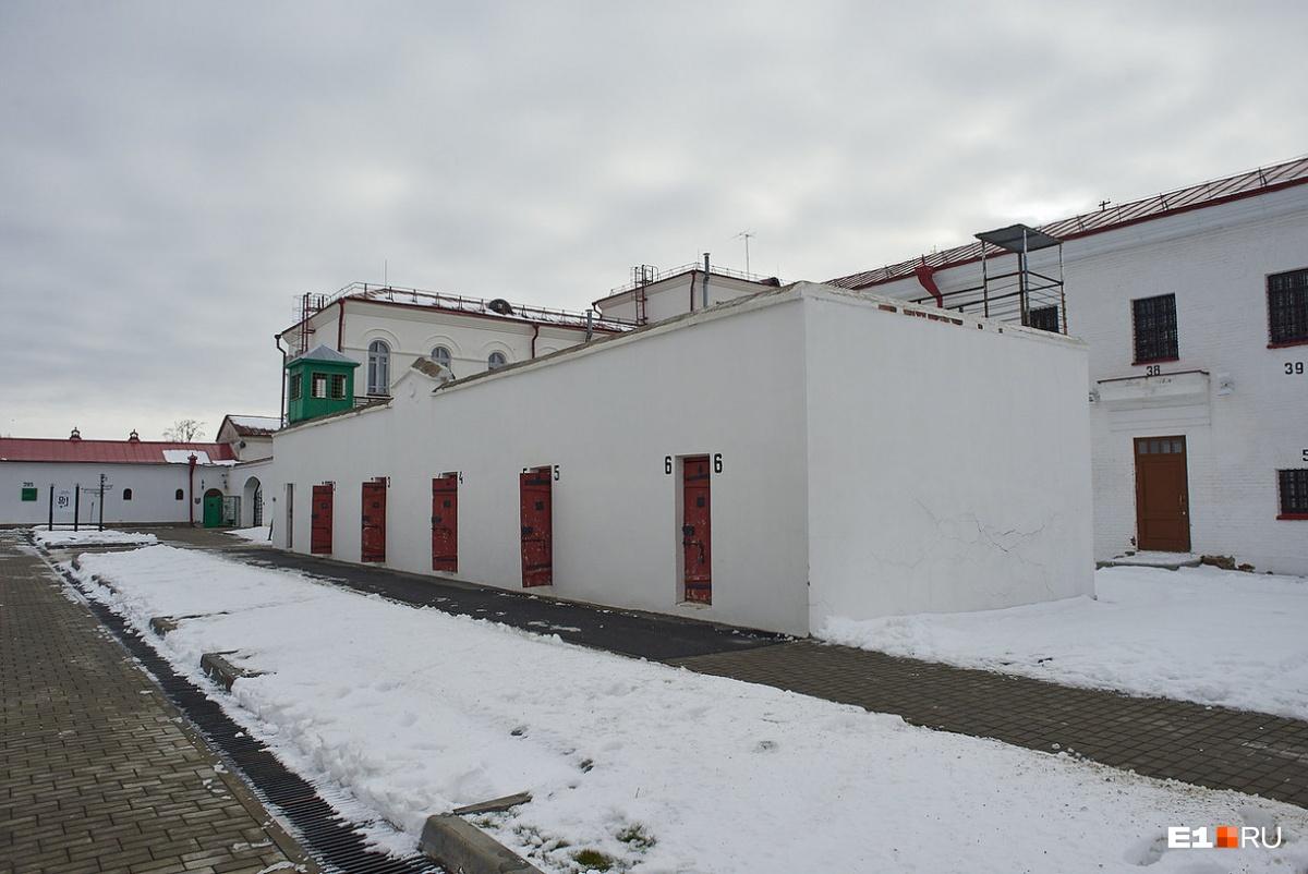 Тюремный замок: дворики для прогулок