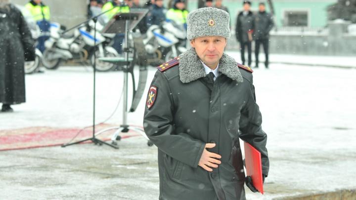 Начальник полиции Екатеринбурга написал рапорт об увольнении