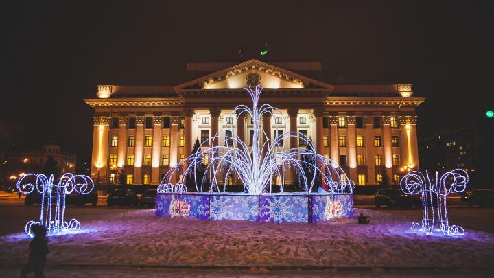 Снежная королева, елка за 9 миллионов и новые арт-объекты: смотрим, как украсят Тюмень к Новому году