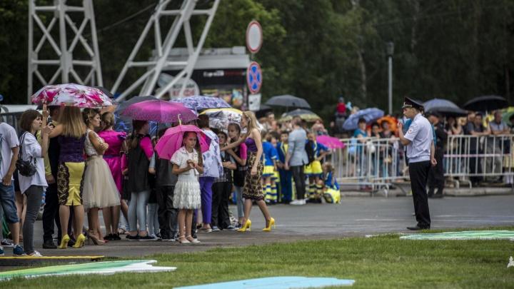 Погода подкачает: на День города в Новосибирск придут дожди с градом