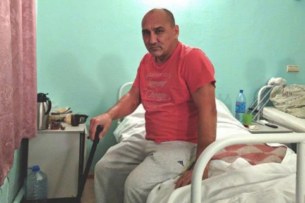 Потерпевший был госпитализирован