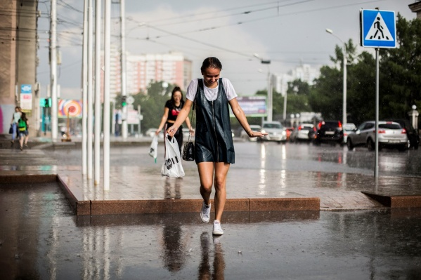 Июнь в Новосибирске обещает быть дождливым