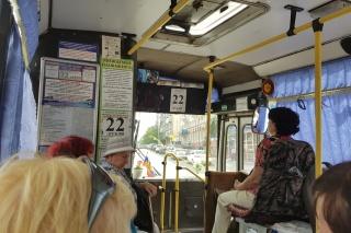 Из-за ремонта на улице Пролетарской курганские автобусы изменят маршруты