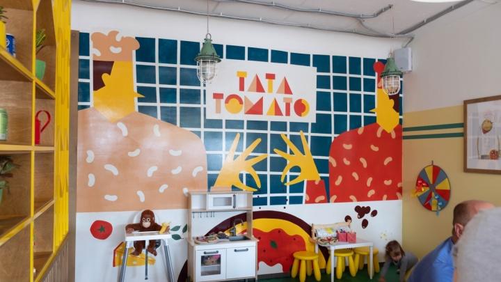 «Няня помидорка»: в Академгородке открылась семейная пиццерия с большим количеством томатов в меню