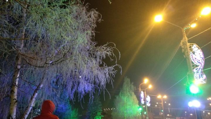 Зловонной дымкой снова затянуло Красноярск