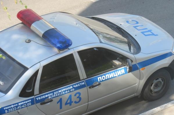 Полицейские остановили машину курганца для проверки документов