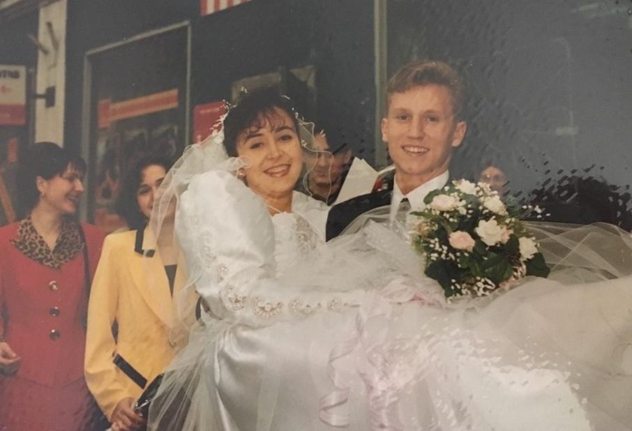Сергей женился на четвёртом курсе военного училища