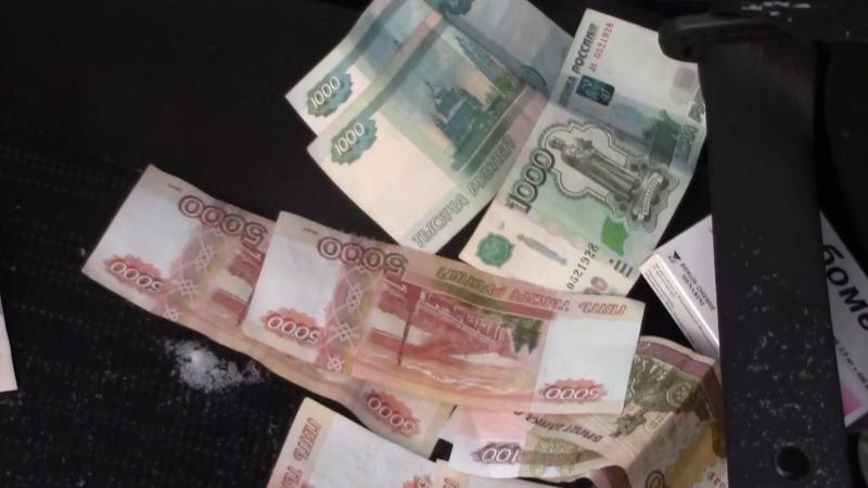 Чиновник пытался избавиться от денег, кинув их в снег