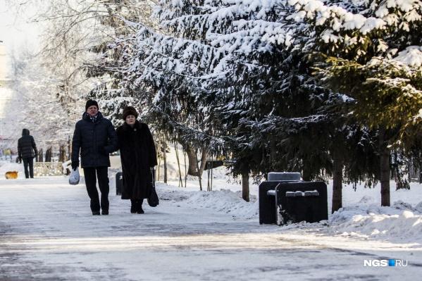 В Новосибирск возвращается тёплая погода без осадков