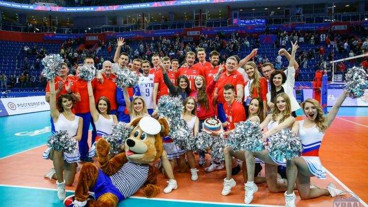 Трое волейболистов уфимского «Урала» отличились в Лиге наций