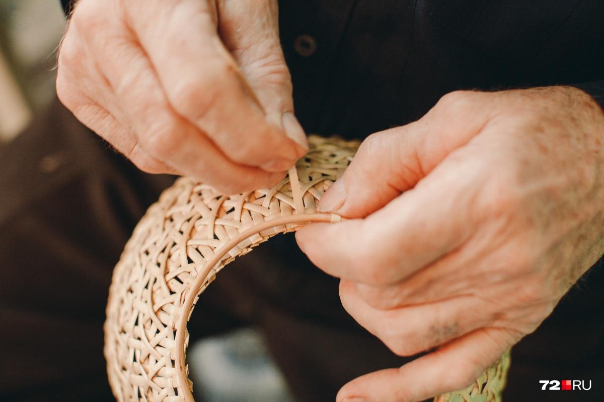 Освоить плетение, по мнению Ивана Михайловича, может каждый