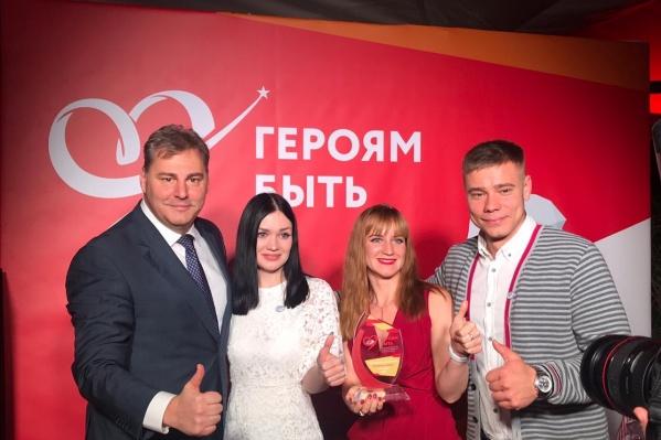 Победителемв номинации «Команда героев» стал проект «Котельниково — Земля Героев»