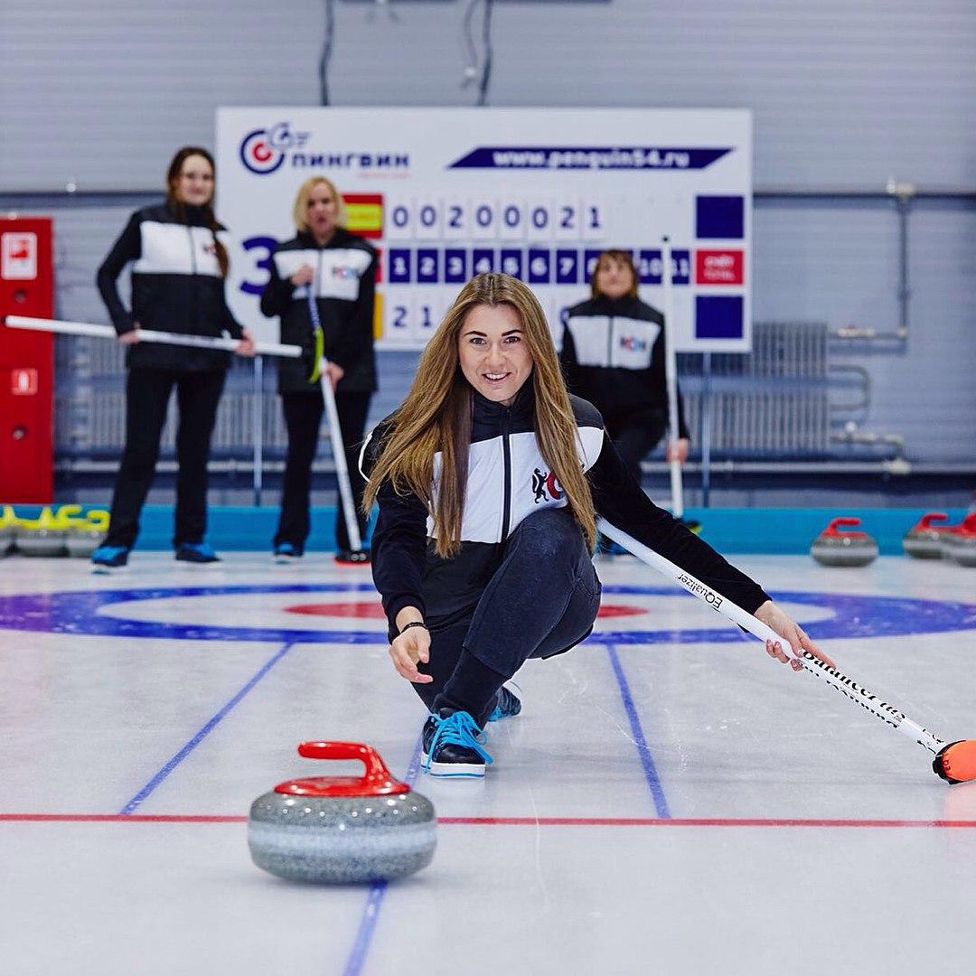 Кёрлинг —один из новых видов спорта, которым занимаются в Новосибирске