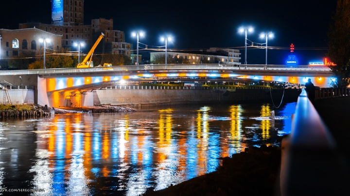 Омские архитекторы раскритиковали ремонт Юбилейного моста