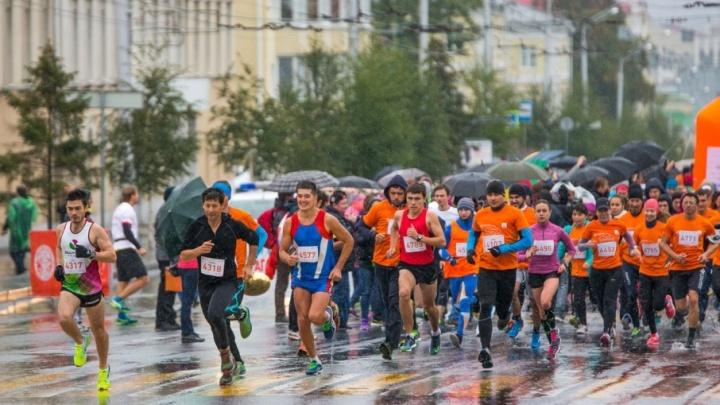Участников уфимского марафона ждет вкусная паста и бесплатная баня