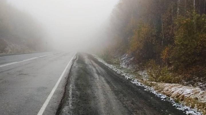 Зима близко: в Башкирии выпал первый снег