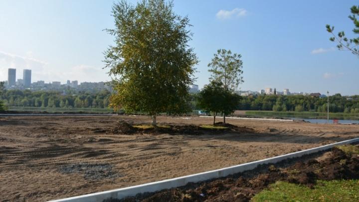 В уфимском парке «Кашкадан» начали масштабную реконструкцию