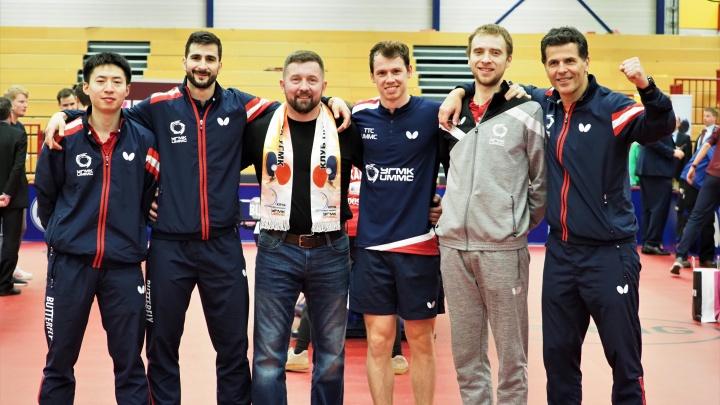 Теннисисты из Верхней Пышмы впервые за семь лет пробились в финал главного турнира Европы