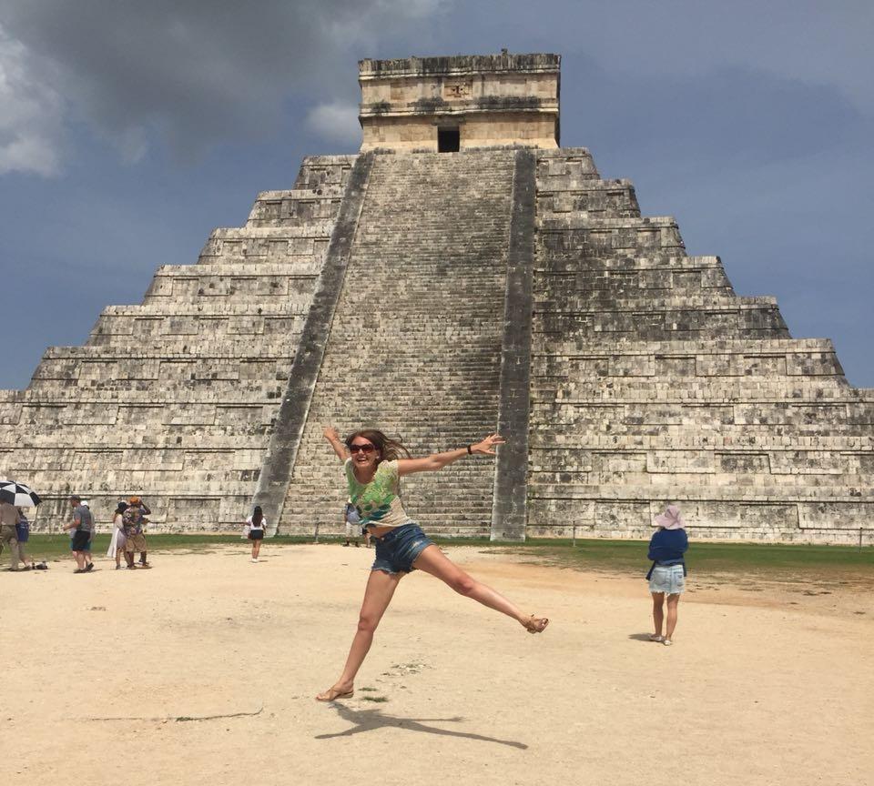 Пирамиды Майя — главная достопримечательность Мексики