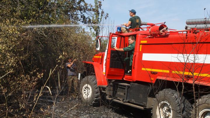 В Волгоградской области произошло 77 пожаров