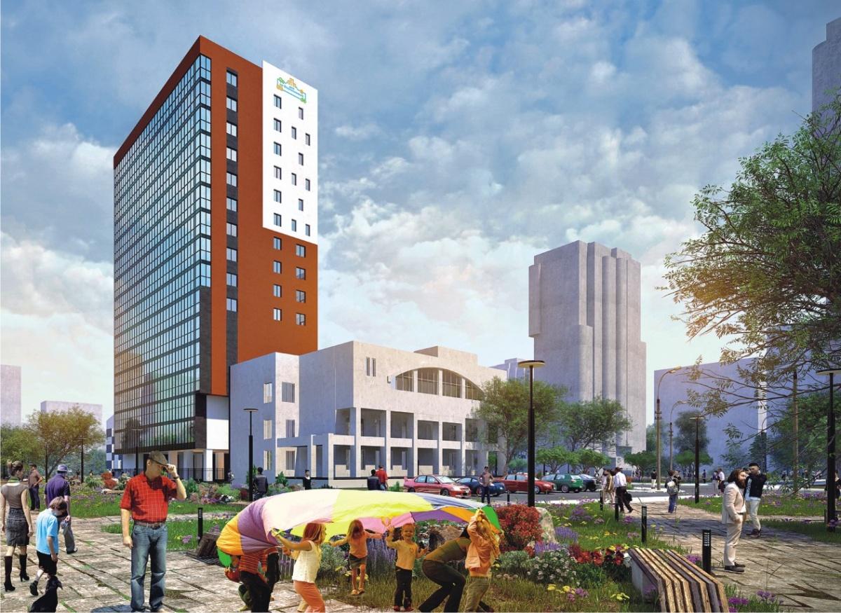 В ЖК «Дом на Опалихинской» будет всего 114 квартир и 1 подъезд. Комплекс компактный и лаконичный