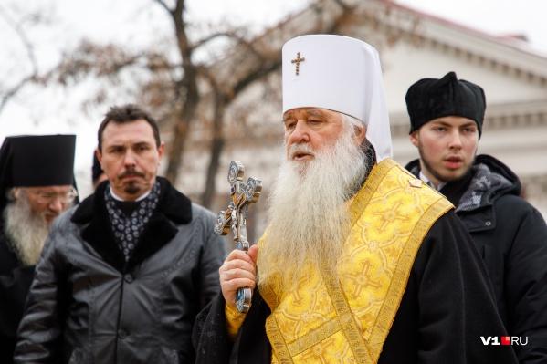 Митрополит Волгоградский и Камышинский будет служить в волгоградском храме
