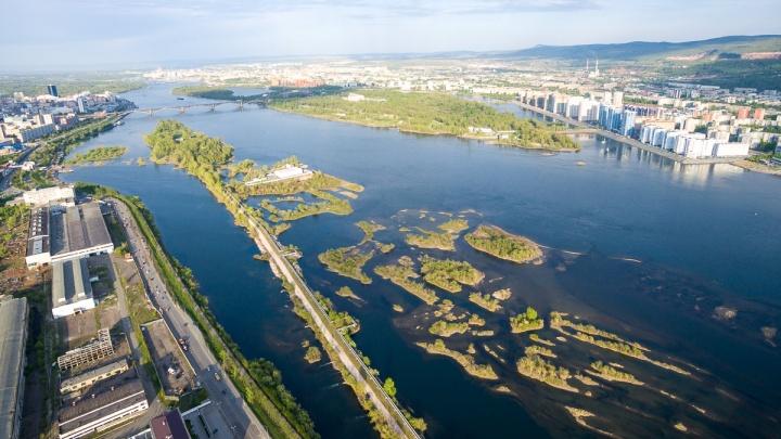 Острова в центре Красноярска сдали за 727 рублей фонду с акционером-строителем