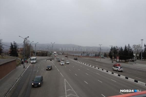 Уже в субботу в Красноярске должно стать теплее