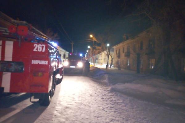 Из дома эвакуировались 30 человек