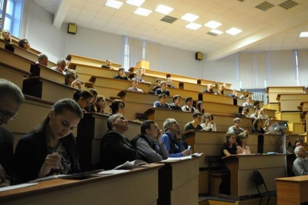 В медицинском вузе проходят не только обычные профильные лекции, но ифорумы Всемирного русского народного собора