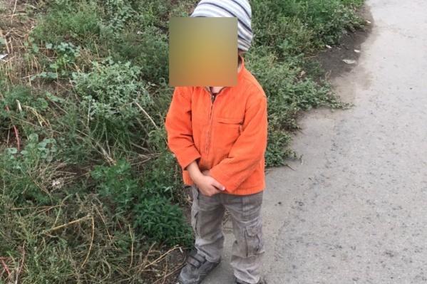 Мальчик находился вблизи дороги