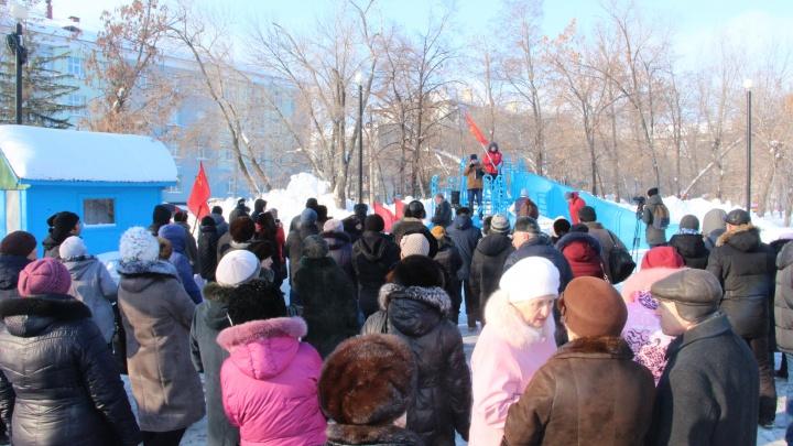 В Новокуйбышевске 300 человек вышли на митинг против мусорной и пенсионной реформ