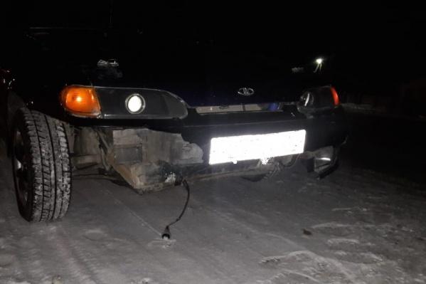 В темное время суток пешехода без световозвращающих элементов водитель может заметить слишком поздно