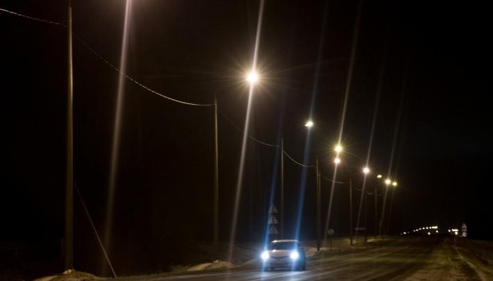 «Уже сбили человека»: ГИБДД отчитала мэрию Ярославля за темноту на Промышленном шоссе