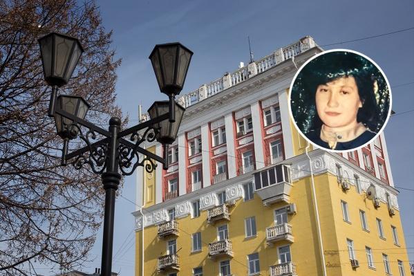 Женщина жила в Черниковке, недалеко от восьмиэтажки