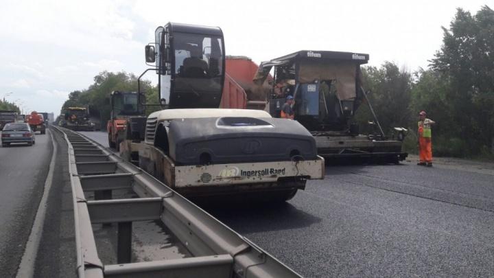 Челябинские дорожники обозначили сроки ремонта на оживлённом участке «Меридиана»