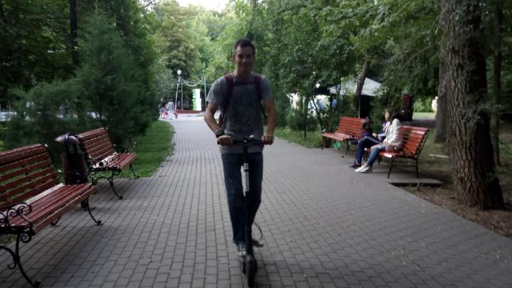 Ростовских гироскутеристов и любителей электросамокатов обяжут соблюдать ПДД