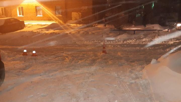 Водитель Toyota Opa сбил подростка в Октябрьском районе